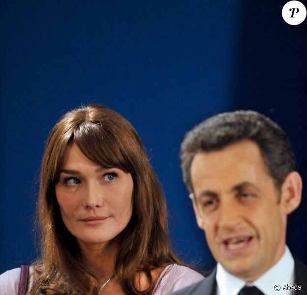 Nicolas Sarkozy et Carla