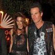 Cindy Crawford et son mari Rande Gerber à la soirée 'Casamigos Halloween' à Beverly Hills, le 30 octobre 2015