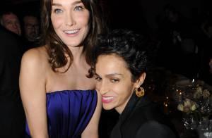 Carla Bruni : quand elle retrouve ses amies en soirée so chic... c'est quand même l'éclate totale !
