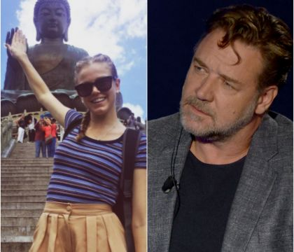 Russell Crowe en couple avec une demoiselle de 32 ans ? Sa réaction...