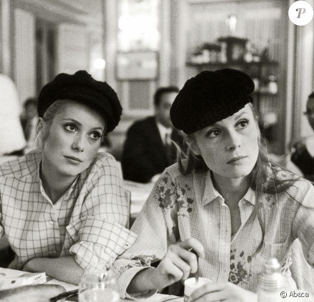 Catherine Deneuve et Françoise Dorléac dans Les demoiselles de Rochefort en 1967