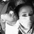 Ariana Grande et Mac Miller sur une photo publiée sur Instagram le 24 avril 2017