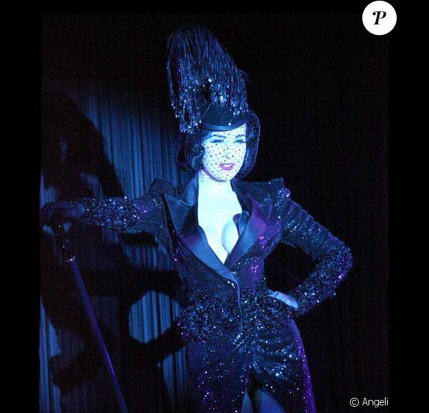 Dita Von Teese, grand show au Crazy !