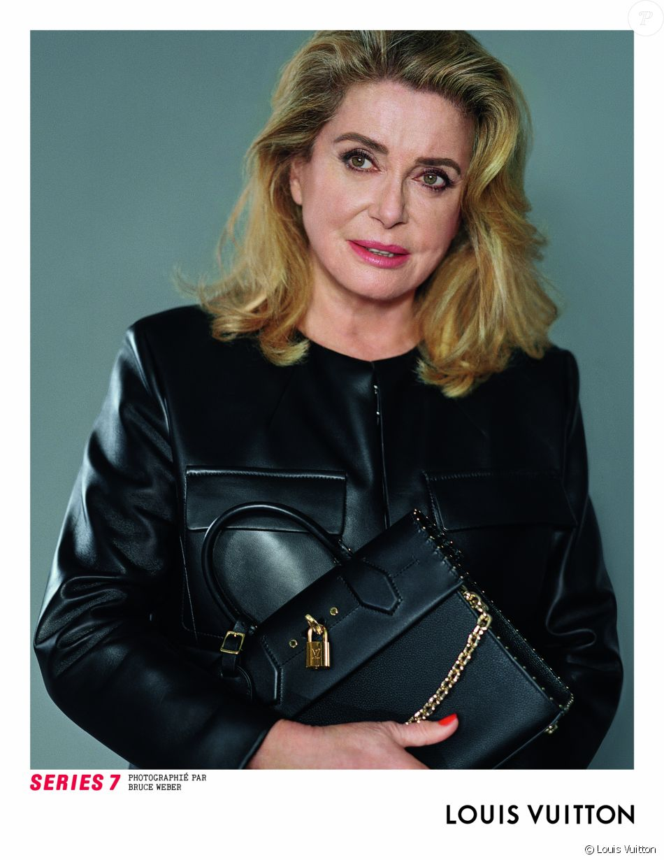 catherine deneuve mannequin pour louis vuitton avec jaden smith. Black Bedroom Furniture Sets. Home Design Ideas