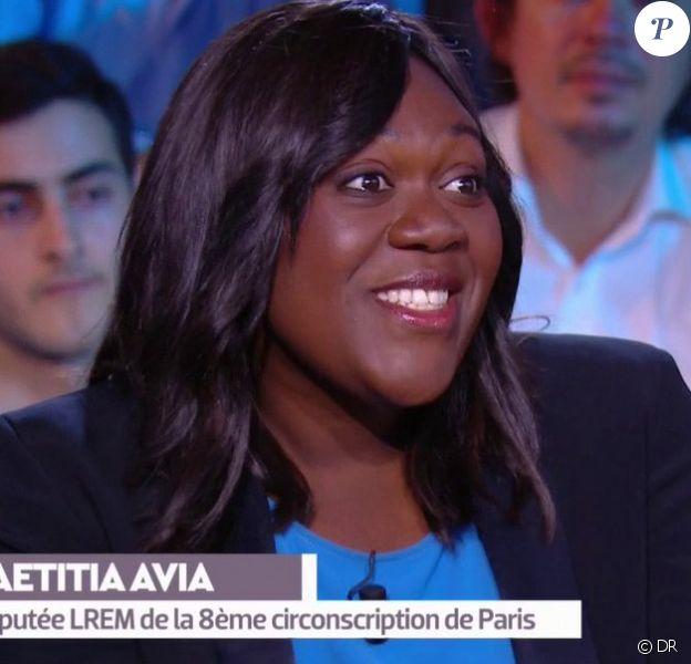 Laëtitia Avia, députée LREM de la huitième circonscription de Paris.