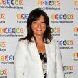 Carinne Teyssandier lors du photocall de la présentation de la nouvelle dynamique 2017-2018 de France Télévisions. Paris, le 5 juillet 2017. © Guirec Coadic/Bestimage