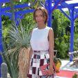 """Sonia Rolland - Défilé de mode """"Bonpoint"""", collection printemps-été 2018, au Jardin des Plantes à Paris. Le 5 juillet 2017. © Giancarlo Gorassini/Bestimage"""