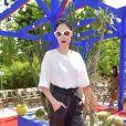 """Coco Rocha - Défilé de mode """"Bonpoint"""", collection printemps-été 2018, au Jardin des Plantes à Paris. Le 5 juillet 2017. © Giancarlo Gorassini/Bestimage"""
