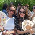 """Sonia Rolland et Sofia Essaïdi - Défilé de mode """"Bonpoint"""", collection printemps-été 2018, au Jardin des Plantes à Paris. Le 5 juillet 2017. © Giancarlo Gorassini/Bestimage"""