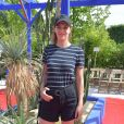 """Céline Sallette - Défilé de mode """"Bonpoint"""", collection printemps-été 2018, au Jardin des Plantes à Paris. Le 5 juillet 2017. © Giancarlo Gorassini/Bestimage"""