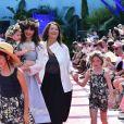 """Défilé de mode """"Bonpoint"""", collection printemps-été 2018, au Jardin des Plantes à Paris. Le 5 juillet 2017. © Giancarlo Gorassini/Bestimage"""