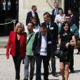 La première dame Brigitte Macron lors du lancement de la concertation autour du 4ème plan autisme au palais de l'Elysée à Paris, le 6 juillet 2017. Sebastien Valiela/Bestimage