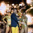 """Exclusif - Keen'V - Emission """"La chanson de l'année fête la musique"""" dans les arènes de Nîmes, diffusée en direct sur TF1 le 17 juin 2017. © Bruno Bebert/Bestimage"""