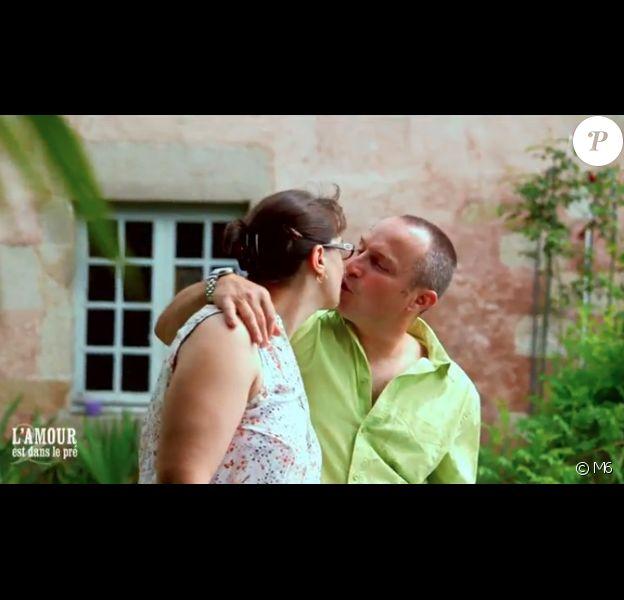 """Guillaume et Sandrine - """"L'amour est dans le pré 2016"""", première partie du bilan sur M6. Le 24 octobre 2016."""