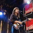 Clara Luciani en concert au Fnac Live, Hôtel de Ville de Paris, le 8 juillet 2017.
