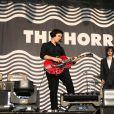 The Horrors en concert au Fnac Live, Hôtel de Ville de Paris, le 8 juillet 2017.