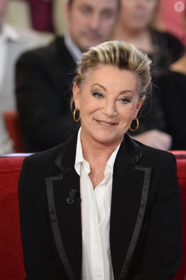 """Sheila - Enregistrement de l'emission """"Vivement Dimanche"""" a Paris le 12 decembre 2013. L'emission sera diffusee le 05 janvier 2014."""
