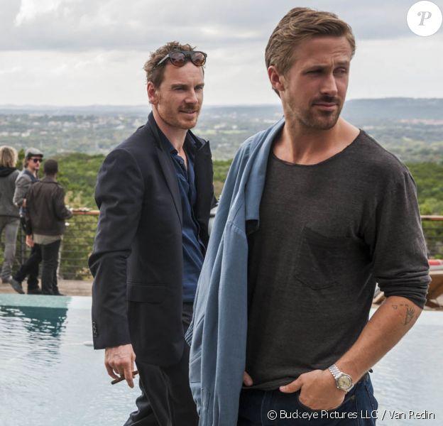 Rooney Mara, Ryan Gosling et Michael Fassbender dans Song To Song.