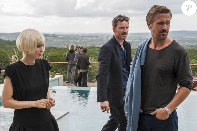 Rooney Mara, Ryan Gosling et Michael Fassbender dans Song To Song.