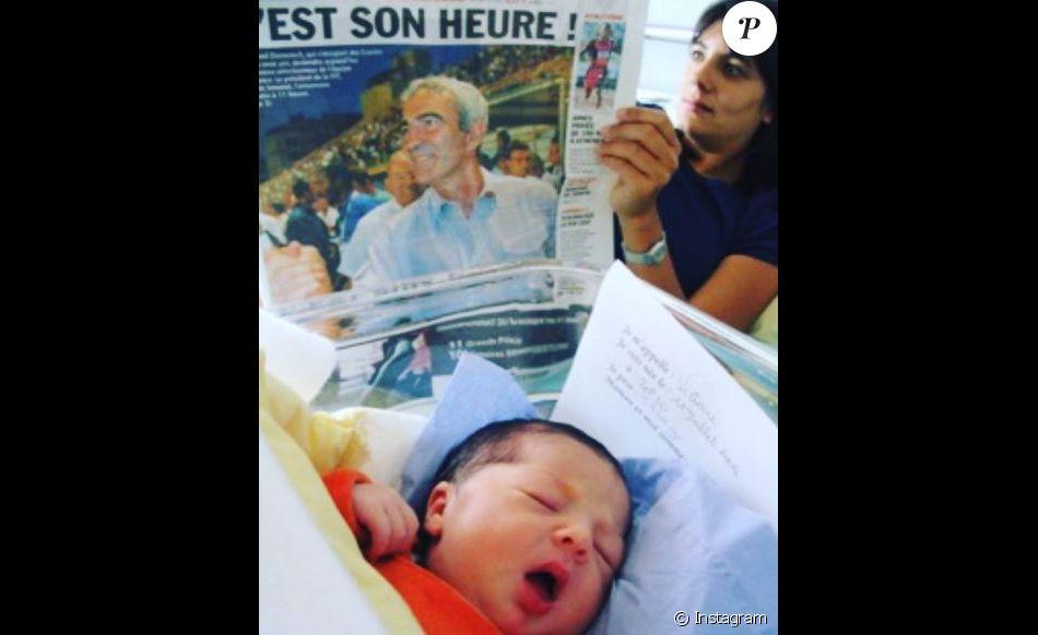 Estelle Denis a partagé sur Instagram cette photo de sa fille Victoire, née en 2004.