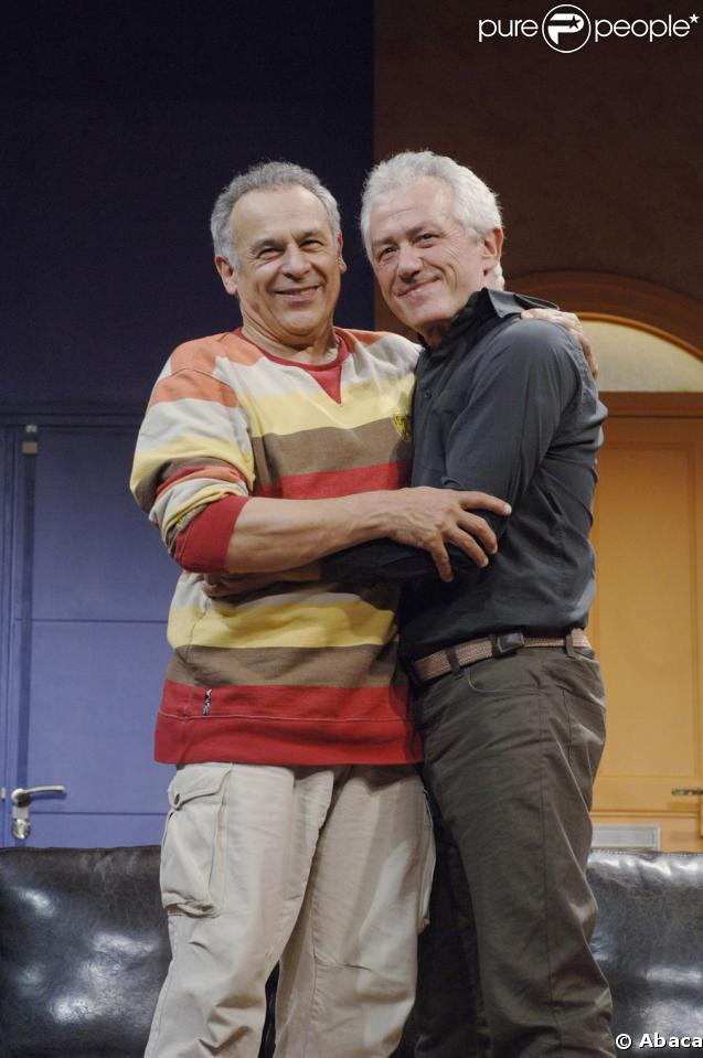 Francis Perrin et Jean-Luc Moreau