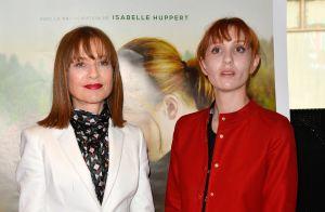 Isabelle Huppert tourne avec sa fille Lolita :