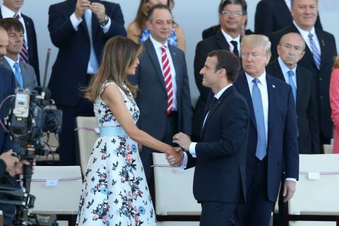 Melania Trump : Son amusante bourde à propos d'Emmanuel Macron