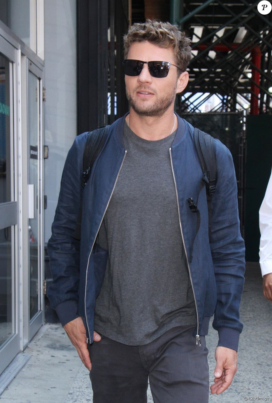Ryan Phillippe se promène à New York le 10 juillet 2017.