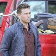 Ryan Phillippe sur le tournage de ''Wish Upon'' à Toronto, le 14 novembre 2016.
