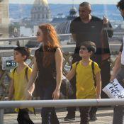 Céline Dion : Ses jumeaux admirent Paris pendant que René-Charles se défoule