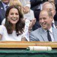 Kate Middleton, duchesse de Cambridge, marraine du All England Lawn Tennis and Croquet Club, assistait le 16 juillet 2017 avec son mari le prince William à la finale de Wimbledon entre Roger Federer et Marin Cilic. Le Suisse a remporté son 8e Wimbledon et son 19e tournoi du Grand Chelem.