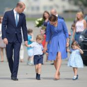 Kate Middleton, William, George et Charlotte : Bye bye à l'unisson à la Pologne