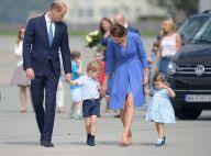 Kate Middleton, William, George et Charlotte : Bye bye à l'unisson à la Pologne