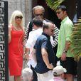 Penélope Cruz sur le tournage de Versace : American Crime Story' à Miami, le 17 mai 2017