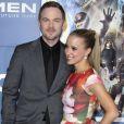 """Shawn Ashmore et sa femme Dana - People à la première du film """"Days of Future Past"""" au centre Jacob Javits à New York. Le 10 mai 2014"""