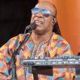 """Stevie Wonder - Festival de jazz """"New Orleans Jazz & Heritage Festival"""" à la Nouvelle-Orléans le 6 mai 2017. © Daniel DeSlover via ZUMA Wire / Bestimage 06/05/2017 - Nouvelle-Orléans"""