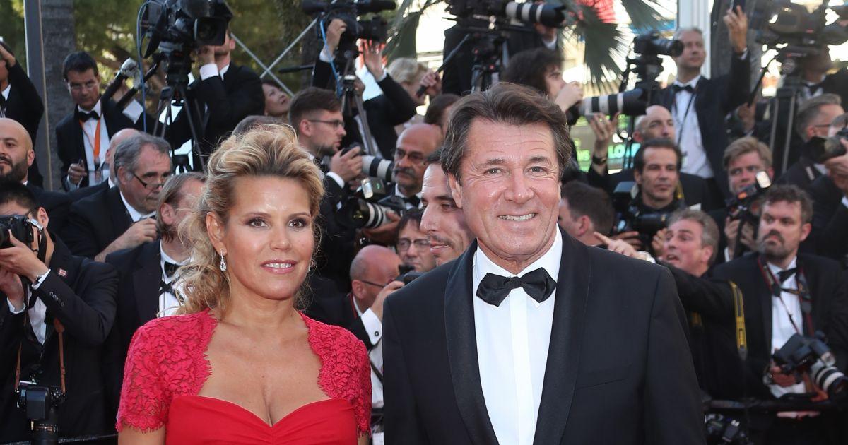 Christian estrosi et sa femme laura tenoudji enceinte mont e des marches du film les - Raphael de casabianca et sa femme ...