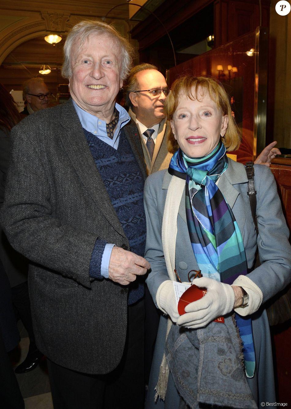 Claude rich et sa femme catherine g n rale de la pi ce la porte c t au th tre douard vii - Piece de theatre la porte a cote ...