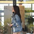 Madison Beer et Brooklyn Beckham sont allés faire du shopping à Barney's à Beverly Hills, le 21 juillet 2017