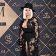 """Black Chyna - Les célébrités arrivent à la soirée """"MAXIM Hot 100 Party"""" à Hollywood le 24 juin 2017. © Birdie Thompson/AdMedia via ZUMA Wire / Bestimage"""