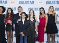 Luc Besson : Ses 5 enfants Juliette, Shanna, Thalia, Sateen et Mao tous réunis