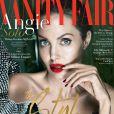 Angelina Jolie en couverture du Vanity Fair américain, numéro de septembre 2017.
