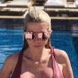 """""""Jessica Thivenin très sexy et très décolletée le 16 mai 2017 sur Instagram."""""""