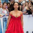 La chanteuse Rihanna lors de la première du film ''Valerian'' au Cineworld à Londres, le 24 juillet 2017.