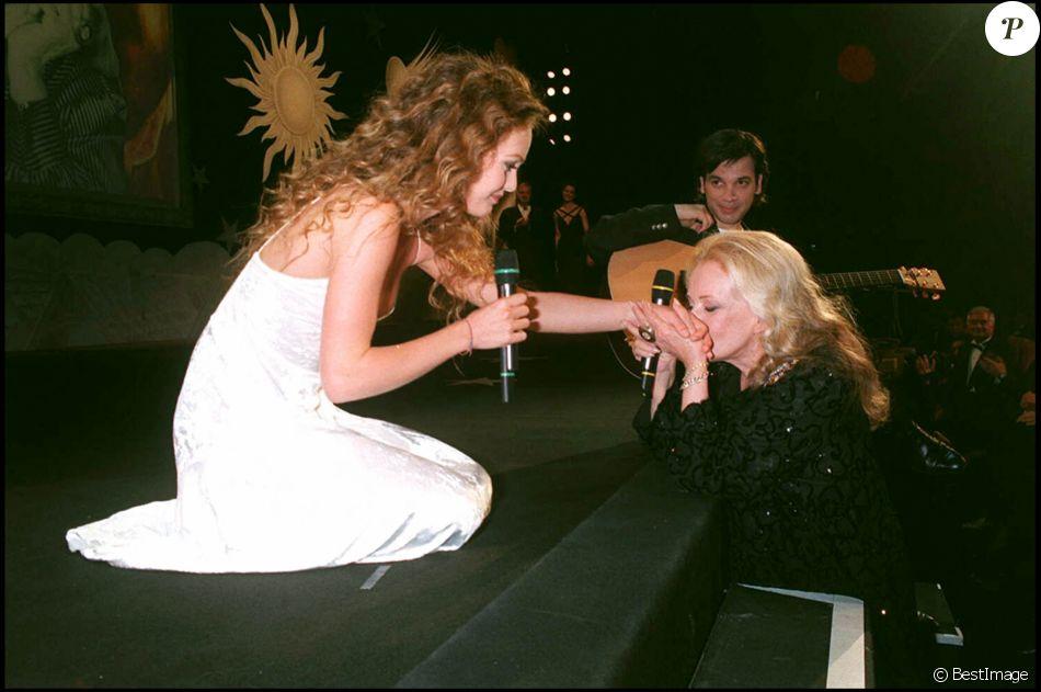 Vanessa Paradis et Jeanne Moreau au Festival de Cannes 1995
