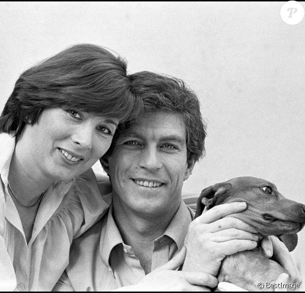 Jean-Claude Bouillon avec sa femme en 1978