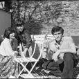 Jean-Claude Bouillon en famille en 1978