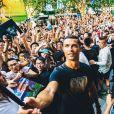 Cristiano Ronaldo en promotion à Shanghai, photo Instagram du 22 juillet 2017.