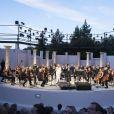 Exclusif - Jacqueline Franjou et l'orchestre philharmonique de Nice - Festival de Ramatuelle le 27 juillet 2017 © Cyril Bruneau / Festival de Ramatuelle / Bestimage