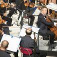Exclusif - Marc Coppey et l'Orchestre philharmonique de Nice au Festival de Ramatuelle le 27 juillet 2017 © Cyril Bruneau / Festival de Ramatuelle / Bestimage